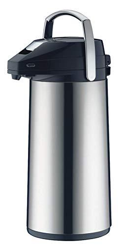 alfi Thermoskanne, Getränkespender groß, alfiDur Glaseinsatz, 2,2L, 0987.000.220, Große Isolierkanne hält 12 Stunden heiß, 24 Stunden kalt, Kanne ideal für Party und Bewirtung