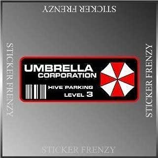 Resident Evil Umbrella Corp. Parking Decal Vinyl Decal Bumper Sticker 2