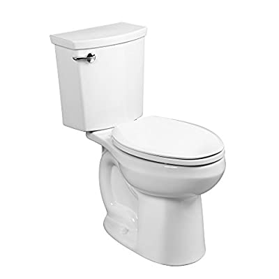 American Standard 288AA114.020 H2 Optimum Siphonic Right Height Elongated Toilet, White