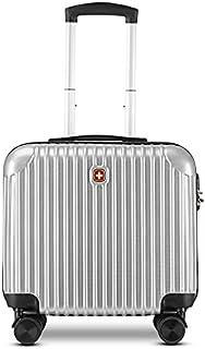 "Swissgear Makeup Trolley Bag 20"" Swiss Gear Hard-Shell Bag - Silver"