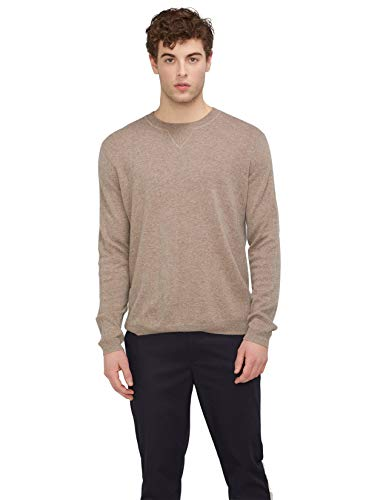 State Cashmere Essential Crewneck Sweater 100% Pure Cashmere Pullover Knitted Base Layer