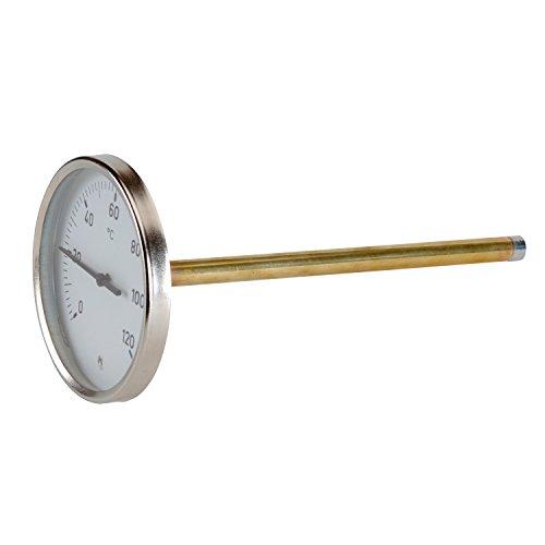 Thermador-Termómetros Termómetro de émbolo de 0 a 120 °C  esfera de 100 mm de diámetro, 100 mm