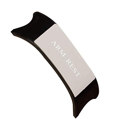 Qimao Nail Art Portable Salon de beauté main poignet Appuie-bras ABS silicone Coussin Coussin Porte manucure
