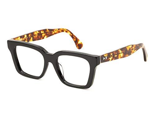 X-LAB Monturas Vista mod. Panarea FOTOCROMATICO NEGRO -TART. Claro/Lentes FOTOC. Gafas grises Unisex Color Negro Talla 51 mm
