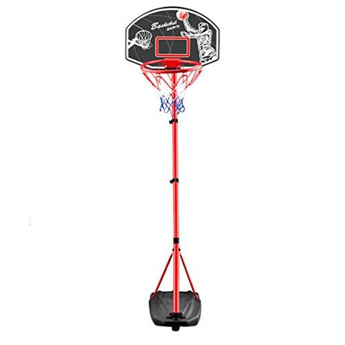 LZL Liftable Baloncesto Hoop Objetivo Sistema de Baloncesto Equipo de Baloncesto Altura Ajustable Tablero y Ruedas para niños (tamaño : 2.4m)