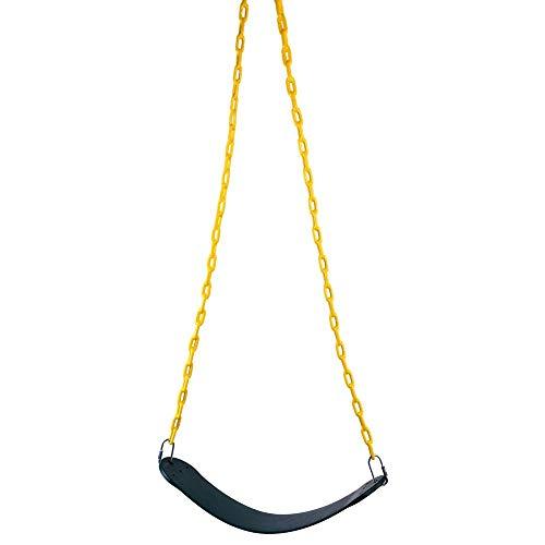 Alomejor1 Kinderen Swing Seat Vervanging Speeltuin Swing Zware Stoel Swingset Hanger Overdekte Ketting