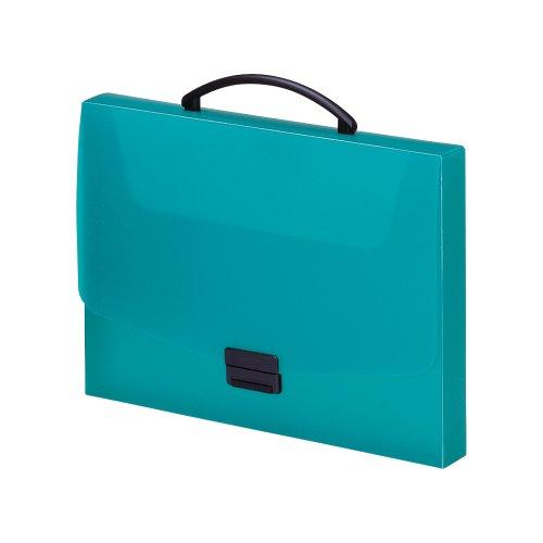 リヒトラブ バッグ アクアドロップス A4 青緑 A5005-28