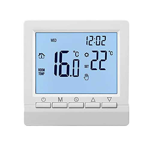 Termostato de caldera de gas Estufa de pared LCD digital...