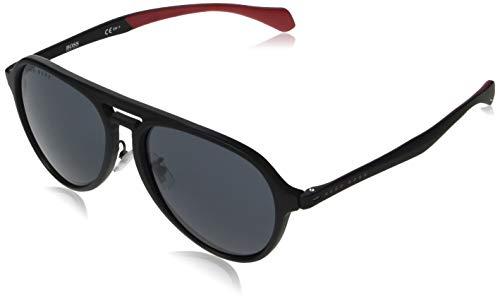 Hugo Boss Sonnenbrillen (BOSS-1099-F-S 003IR) schwarz matt - blau-grau