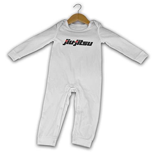 Jiu-Jitsu - Mameluco de algodón para bebé recién nacido de manga larga para niños y niñas