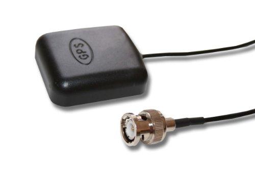 vhbw Antena GPS Compatible con Garmin GPSMap 235 Sounder, 238 Sounder, 276, 276c navegador - Base magnética, con conexión BNC, 5 m