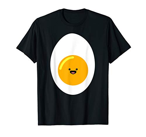 Kawaii Egg Shirt, Cute Hard Boiled Deviled Egg Costume T-Shirt