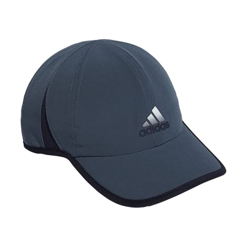 adidas Men's Superlite Relaxed Adjustable Performance Cap,Legacy Blue/Legend Ink/White,ONE Size