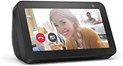 Echo Show 5 (1st Gen, 2019 release) -- Smart display with Alexa – stay connected with video calling - Charcoal