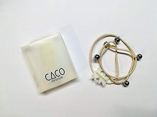 CACO DESIGN - Bracciale Elastico - Bianco