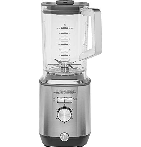 GE Blender, Powerful 1000 Watt Blender with 64-Ounce Tritan Jar, 5 Speeds with Pulsing Option, Stainless Steel, G8BJAASSPSS