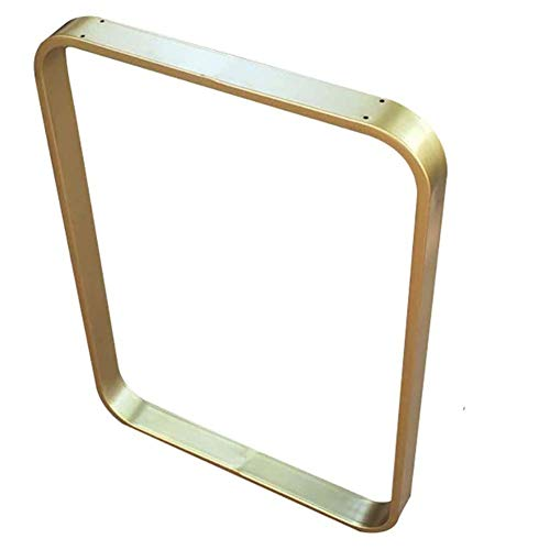 Voeten in staal met de hoogte in hoogte Poot tafel Bar Resistant DIY met 28 inch, het plafond steunpoten voor meubels Plein Vergulde platform regolabil,40x70cm(16x28in)