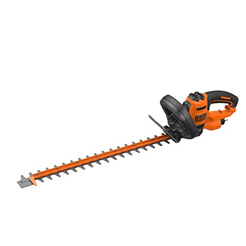 BLACK+DECKER BEHTS501-QS Cortasetos electrico 600 W, espada