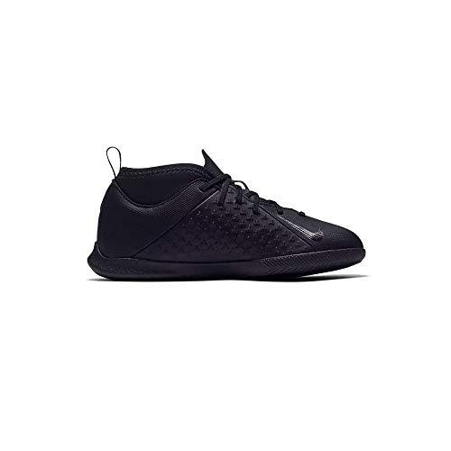 Nike Jr Phantom Vsn Club DF IC, Zapatillas de fútbol Sala Unisex niño, Negro Black Black 001, 33 EU