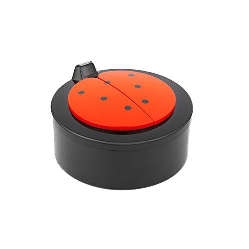 X&hui Automatische afvalemmer voor desktop, kantoor, thuis, keuken, mini kunststof, intelligent contactloze infrarood met accu-opbergemmer, 2 l