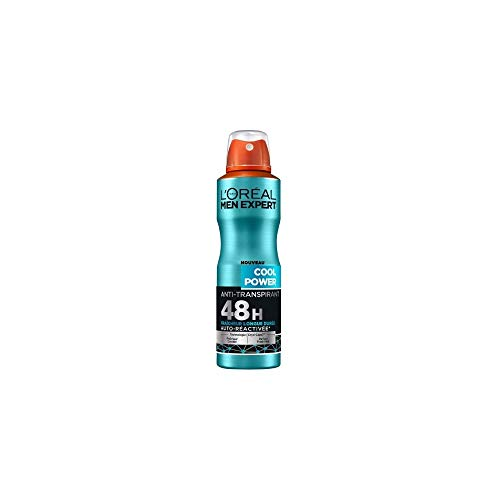 L'Oréal Men Expert Cool Power Déodorant Spray Homme - 200 ml