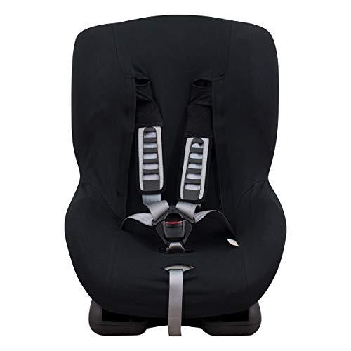 JANABEBE Bezug Universal für Auto-Kindersitz Gr 1 2 3 BLACK SERIES