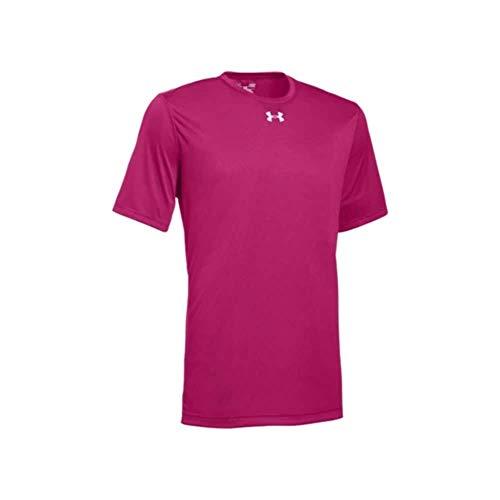 Under Armour Men's UA Locker 2.0 T-Shirt (X-Large, Tropic Pink-Metallic Silver)