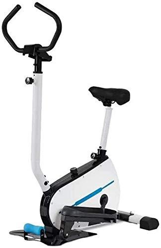 Wghz Macchina ellittica, ellittica Magnetica, Resistenza al magnetron, Cyclette ellittica per Tutti i Giorni Sport di Salute/Fitness