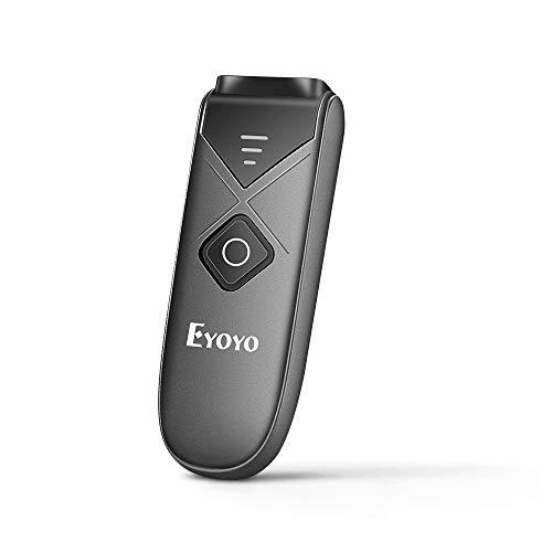 Eyoyo Mini Lecteur Codes Barres Douchette Portatif Connexion USB Filaire / Bluetooth / 2,4 G sans Fil Scanner 1D 2D QR PDF417 Data Matrix pour iPad iPhone Android Tablettes PC (EY-015)