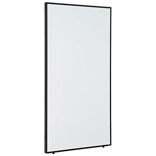 "36-1/4""W x 72""H Office Partition Panel with Whiteboard"