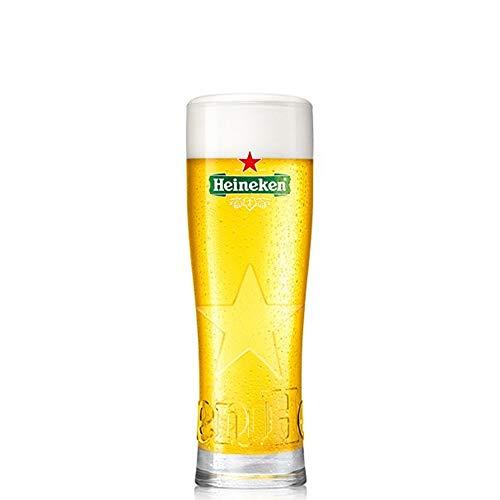 HEINEKEN Biergläser 50cl / 500ml | 6er Set | Hochwertige Gläser