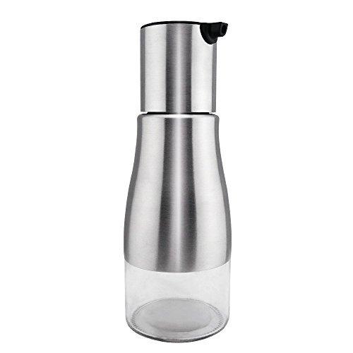 Toogou 304 Stainless Steel Olive Oil Bottle-All Made of Food Grade Material Oil Dispenser,Cruet For Vinegar,Soy sauce And More