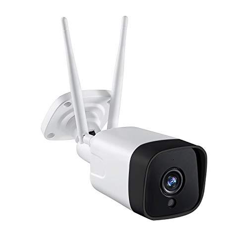Voila Reve 3G/4G LTE - Videocamera di sorveglianza per esterni, resistente alle intemperie, 3 MP HD, visione notturna a 2 vie, sensore di movimento PIR, non necessita di WLAN