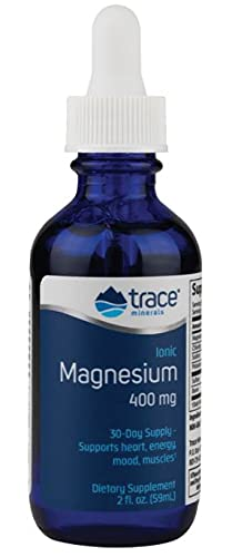 Trace Minerals Research Ionic Magnesium - 4 oz - Can Help with Muscle...