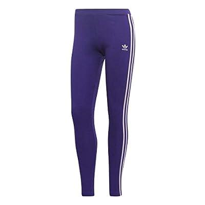 adidas Originals Women's 3 Stripes Legging, collegiate purple, X-Small