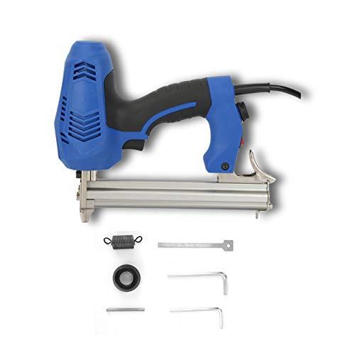 Plyisty Clavadora eléctrica, clavadora portátil de 50 HZ / 2250 W, Pistola de Clavos para carpintería de Alta Potencia de 45 Piezas/min, Mango de Goma Suave, para la fabricación de Muebles