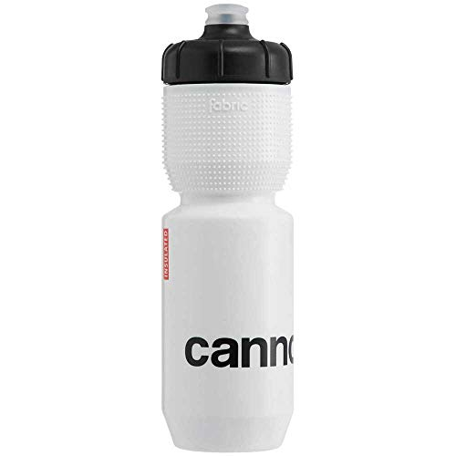 Cannondale Logo Gripper Insulated Isolier Fahrrad Trinkflasche/Thermoflasche 0.65L weiß