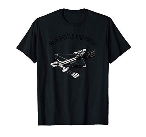 Armbrust Jagd | Armbrustsport & Armbrustschütze Geschenk T-Shirt