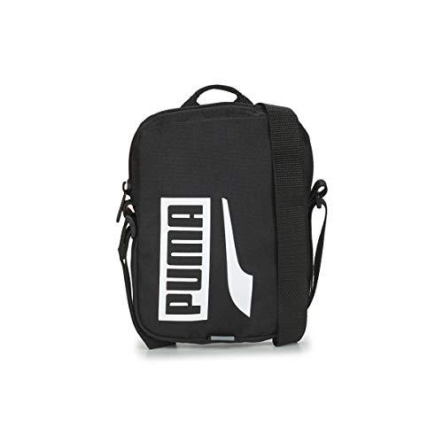 PUMA Plus Portable II Bandolera, Niños, Black (Negro), Talla Única