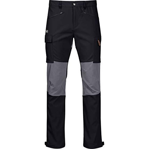 Bergans Nordmarka Hybrid Pantalon Homme, Black/Solid Dark Grey Modèle L 2020