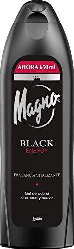 Magno Gel de Ducha Blackenergy 650ml Fragancia Vitalizante, 1 x 68 g