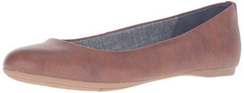 Dr. Scholl's Shoes womens Giorgie Flat, Whiskey, 8 US