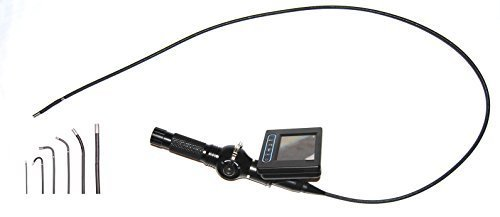 Learn More About Vividia VA-600 High Definition Video Borescope System Videoscope with 4-Way 6mm Art...