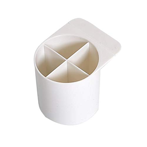 JIAMIN Portalápices de escritorio de papelería portalápices pegables organizador multifuncional de oficina cajas de almacenamiento de papelería titulares de bolígrafos (color: 01)