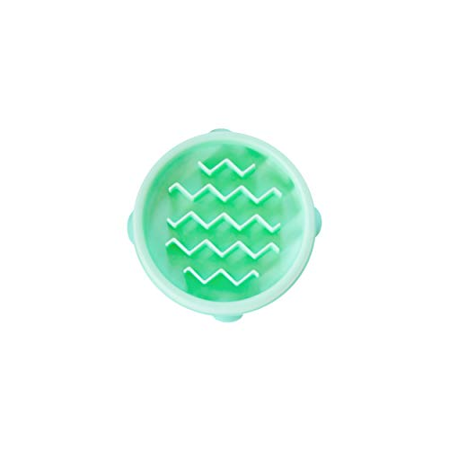 Outward Hound Fun Feeder Slo-Bowl - Ciotola per Cani - Small/Piccola - Menta