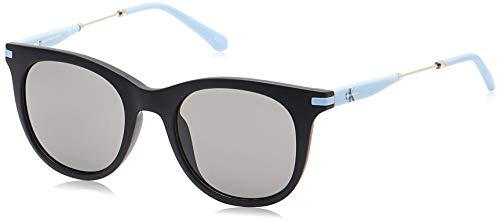 Calvin Klein Jeans Womens CKJ19701S Sunglasses, Black, One Size