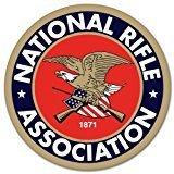 NRA National Rifle Association Gun Rights 2nd Amendment Vinyl Sticker Decal LOGO (6'x6')