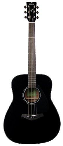 Yamaha FG800 Solid Top Dreadnought Acoustic Guitar - Black