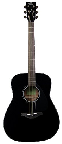 Yamaha FG800 Solid Top Dreadnought Acoustic Guitar - Black
