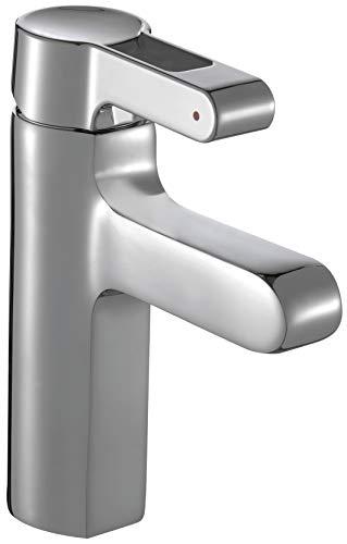 Jacob Delafon E13523-CP Mitigeur lavabo Qualis, vidage...